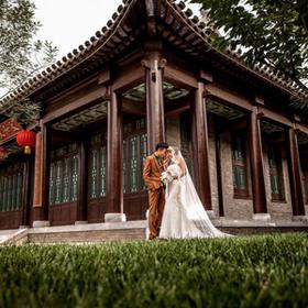 复古主题婚纱照系列