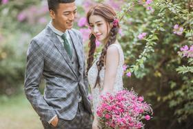 清新主题婚纱照系列