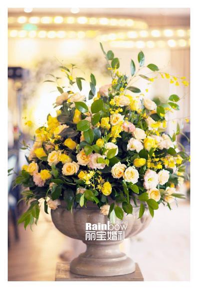 【丽宝小清新婚礼】柠檬黄的夏日
