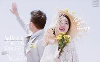 克洛伊全球旅拍【济州岛店】清新婚纱照客片分享:唐玥森&晋莹