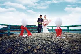 【时尚海景婚纱照】我们