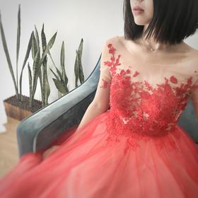 Wild Rose -- 不一样的红礼服
