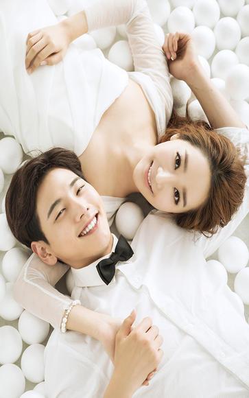 珍珠上的爱 ——韩式婚纱照