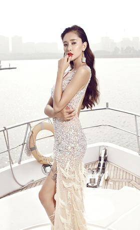 幸福起航——游艇婚纱照