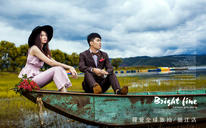 丽江旅拍婚纱照《静待花开窃私语》