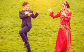 【中式婚纱照】缘分,是可遇不可求的,遇到了,不要放手