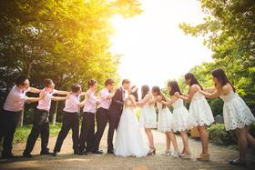 婚礼纪实单机位跟拍