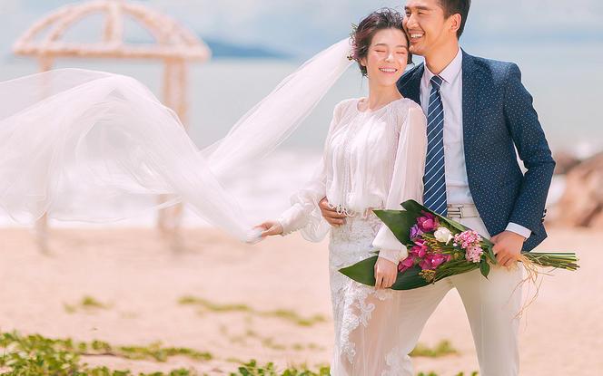 三亚西棠映象婚纱摄影  阳光海岸(2288)