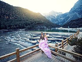柔软时光 丽江旅拍婚纱照