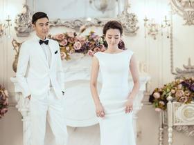 费司摄影【爱之翼】韩式内景婚纱照