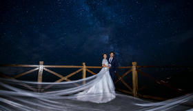 维罗纳婚纱摄影【有你就好】夜景婚纱照