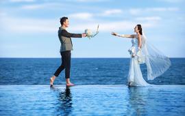 《五星蜜月》游艇+水下+海天一线+海景酒店+接机