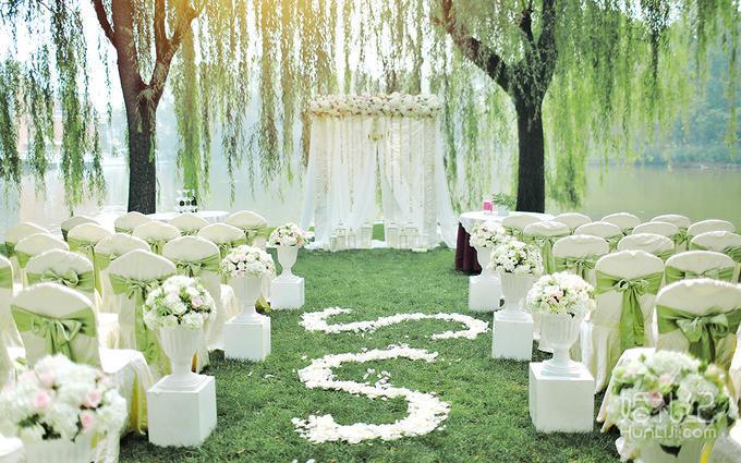 【lomo婚礼定制】纯白色系草坪婚礼