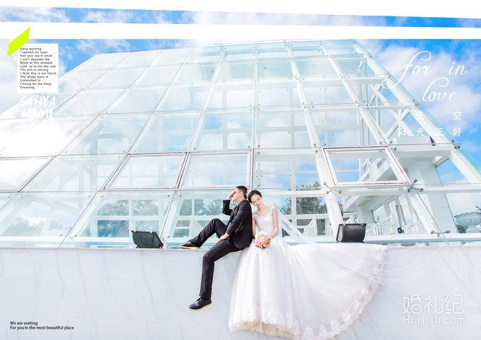 娜美影像-浪漫不将就 | 水晶教堂&凤凰岛,婚礼摄影,纪