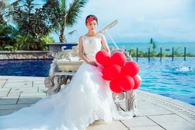 最新唯美婚纱客照,感谢可以见证Miss刘的爱情故事