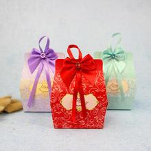 厂家直销婚庆用品 创意欧式结婚喜糖盒 喜糖包装盒 新款喜糖袋