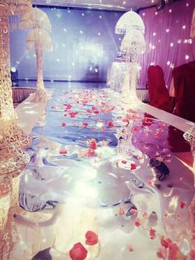 浪漫婚礼现场