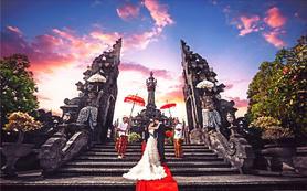 【梦幻升级】 巴厘岛旅拍婚纱照 3服3造