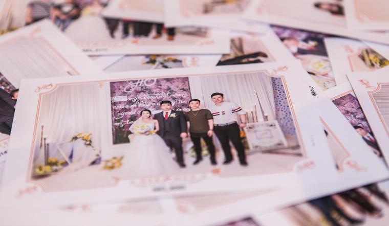 小清新主题婚礼「念和」情书