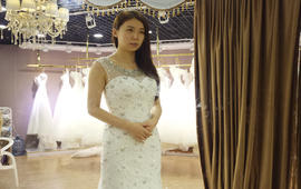 Queen婚纱礼服组合租赁套系(三件)
