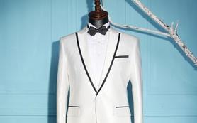 【优客】珍珠白v领礼服,结婚首选