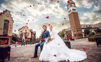 「韩国本土婚纱摄影」纪实风·欧式建筑风