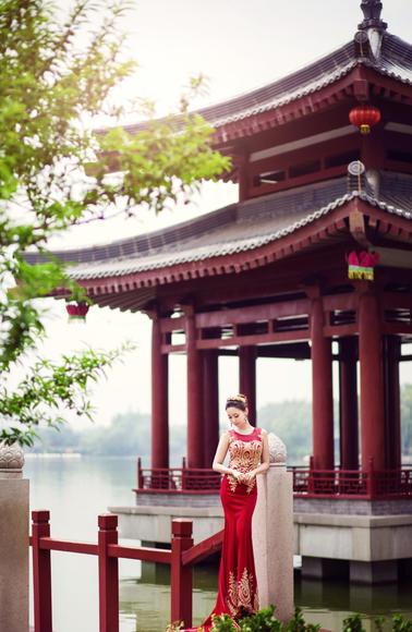 【中式复古婚纱照】芳粼苑