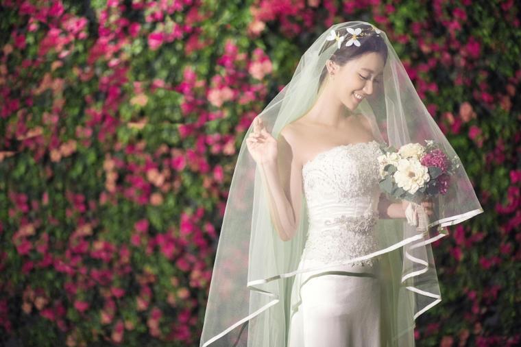 花间集清新婚纱照