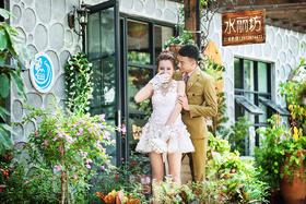 【纽兰视觉】--万国小镇 韩式婚纱照