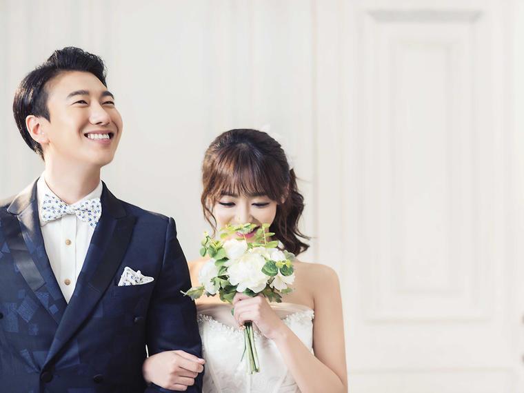 【韩式婚纱照】甜心