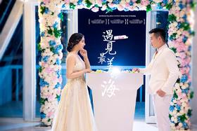 清新婚纱照「朱洋洋 & 陈镘薇」分享幸福