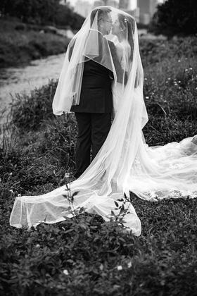 #青密客片# 个性经典黑白婚纱照