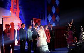 【创意婚礼现场】大城小爱