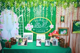 2016.6.26丽山大厦清新森系婚礼