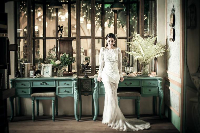 一定要拍一套这样的婚纱照!——韩式婚纱照