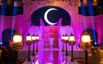 【创意星空婚礼布置】月亮代表我的心