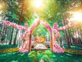 【朵咖创意清新草坪婚礼】灵感伊甸园