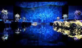 蓝色爱恋主题婚礼