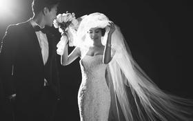 【幸福纪】黑色韵味 韩式婚纱照