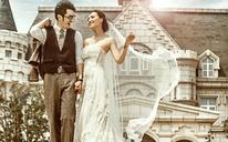 韩国薇拉摄影工作室·城堡庄园薰衣草马场 时尚婚纱照