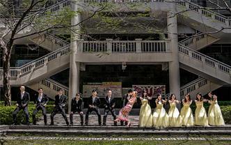 《天空爆款,婚礼必备 》双机位摄影