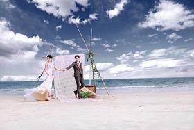 【唯美海景婚纱照】温暖的心