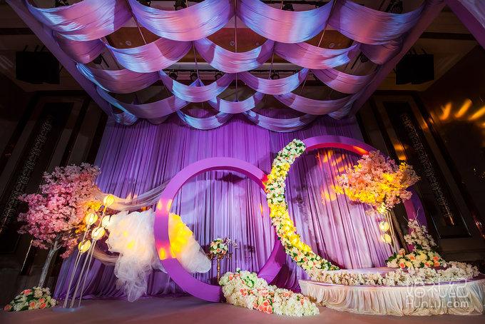 紫色典雅浪漫轻奢欧式婚礼 幻