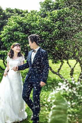 最美小清新婚纱客照--張忠起& 伍曼莉
