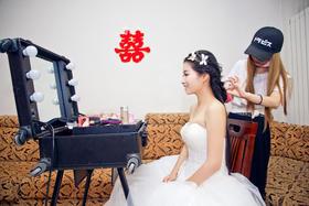 【纪实婚礼摄影+新娘发型展示】用心珍惜爱你的人