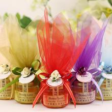 包装/成品 珍珠纱 喜蜜 蜂蜜结婚喜糖盒创意婚礼 蜂喜缘