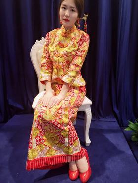 【花蔓婚纱礼服】新款秀禾