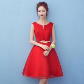 新款婚纱礼服韩版新娘敬酒服短款伴娘服