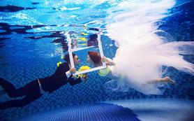 慕摄影创意风格【蓝色多瑙河-水下】系列