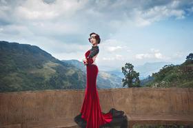 VIAN薇安婚纱造型|复古女王